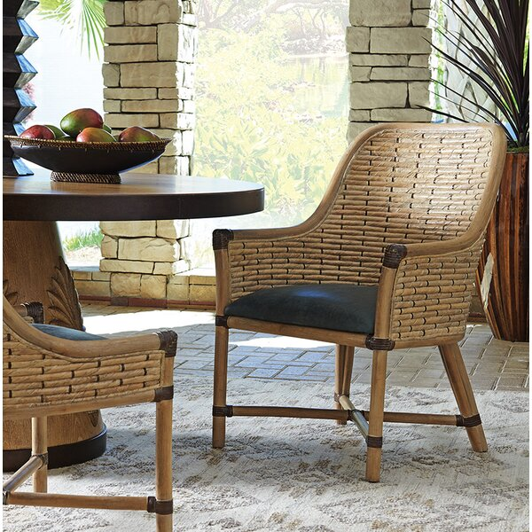 Los Altos Keeling Woven Upholstered Dining Chair by Tommy Bahama Home