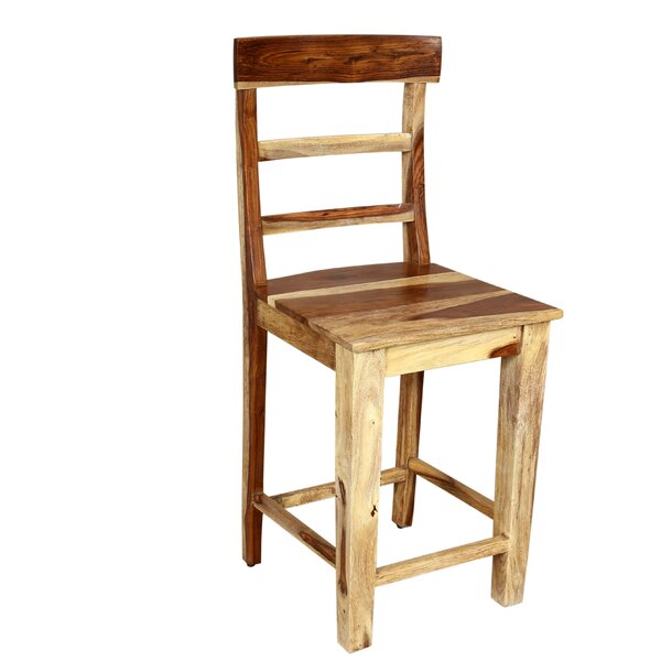 Reaves Solid Wood Dining Chair by Loon Peak