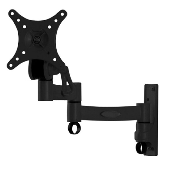 TygerClaw Full Motion Universal Wall Mount for 10-24 Flat Panel Screens by Homevision Technology