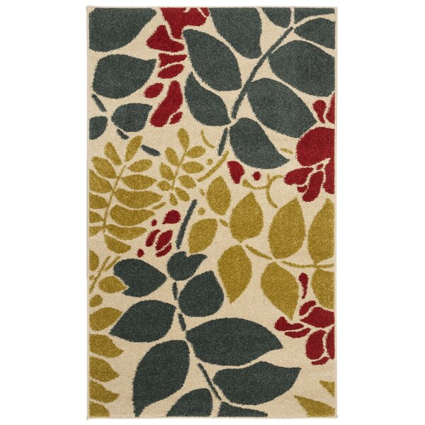 Newport Ivory/Blue Area Rug by Safavieh