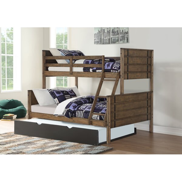 Colella Twin over Full Bed with Trundle by Harriet Bee