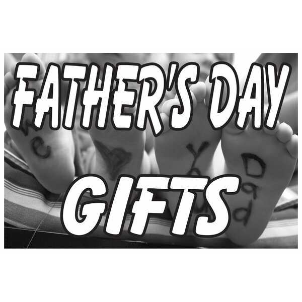 Fathers Day Gifts Banner by The Holiday Aisle