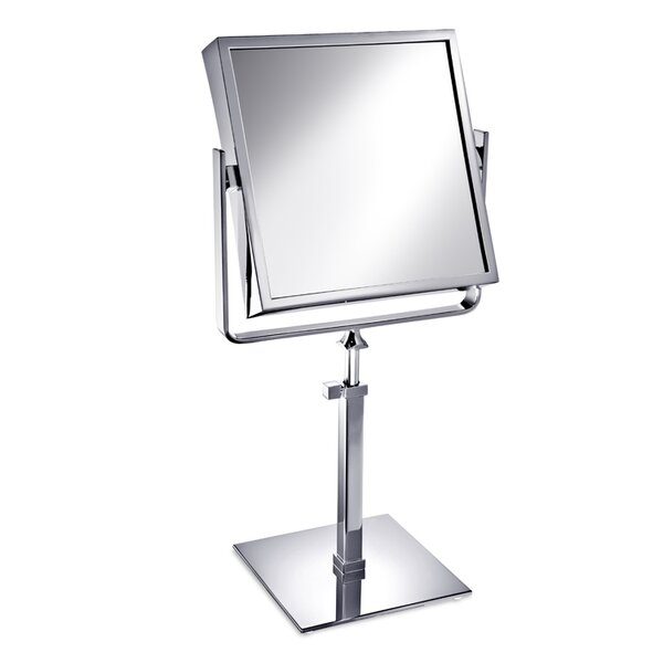 Square Double Face Pedestal Magnifying Mirror by Windisch by Nameeks