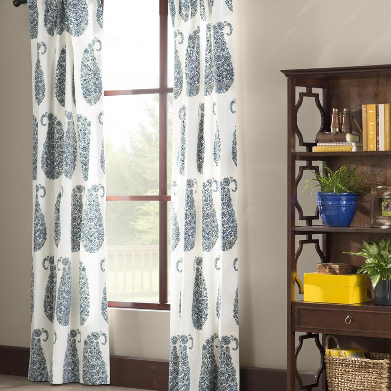 single window curtains basics rod panel pocket solid pdx treatments darkening reviews room curtain wayfair