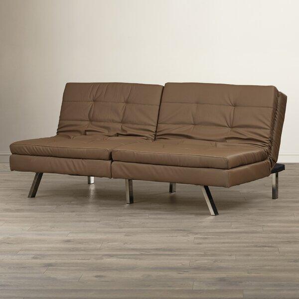 Devonte Foldable Convertible Sofa by Wade Logan