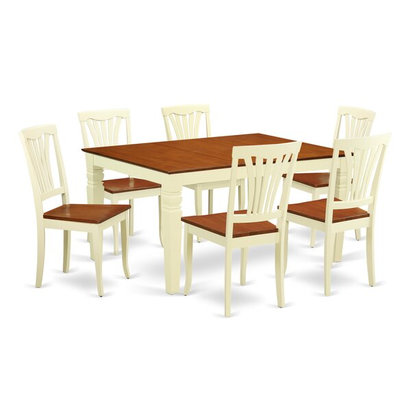 Arledge 7 Piece Dining Set by Darby Home Co Darby Home Co