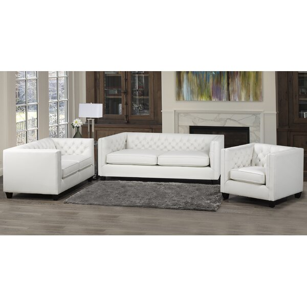 Devito 3 Piece Living Room Set By Darby Home Co Best on| Wine Racks