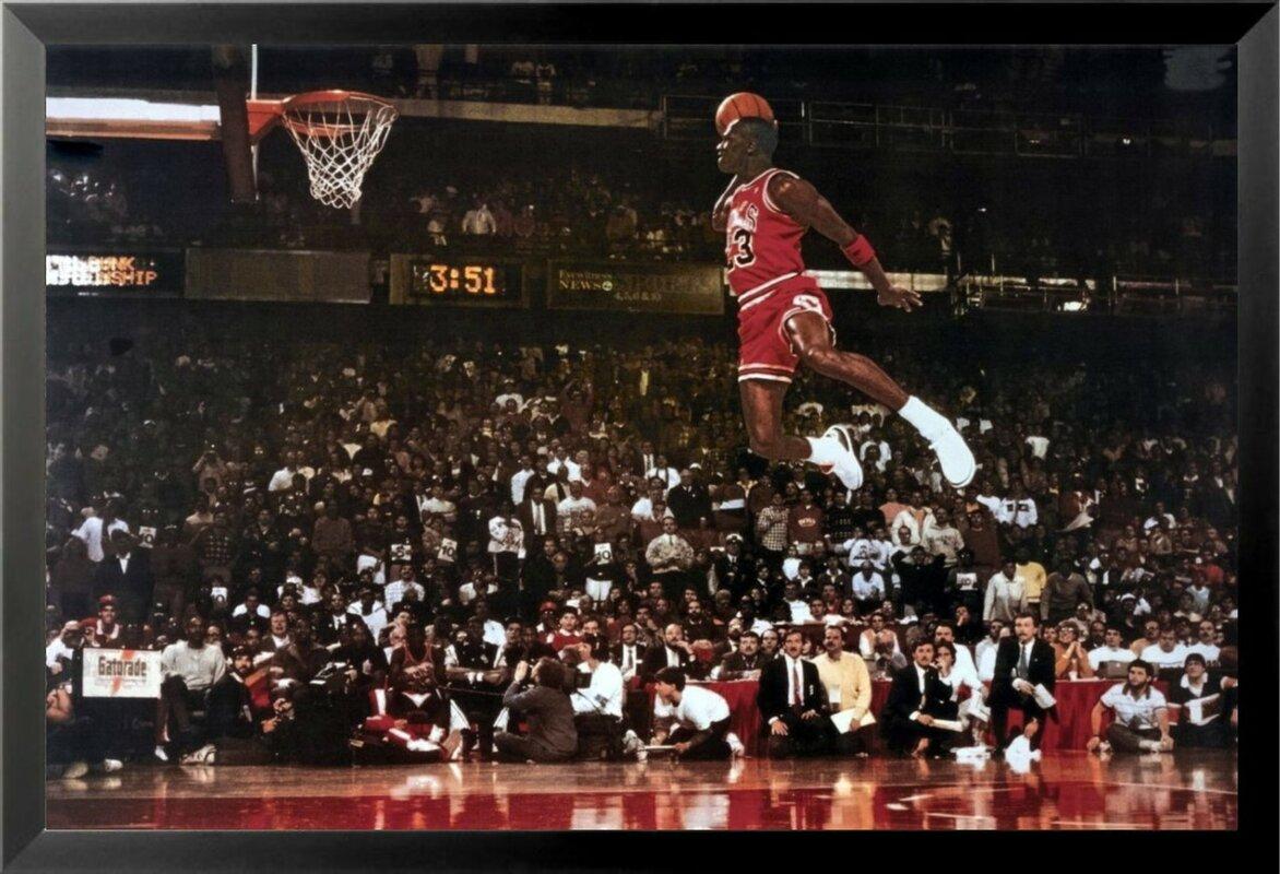 Michael Jordan Bedroom Decor