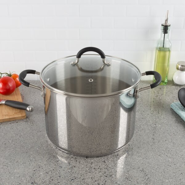 12 qt. Stock Pot with Lid by Classic Cuisine
