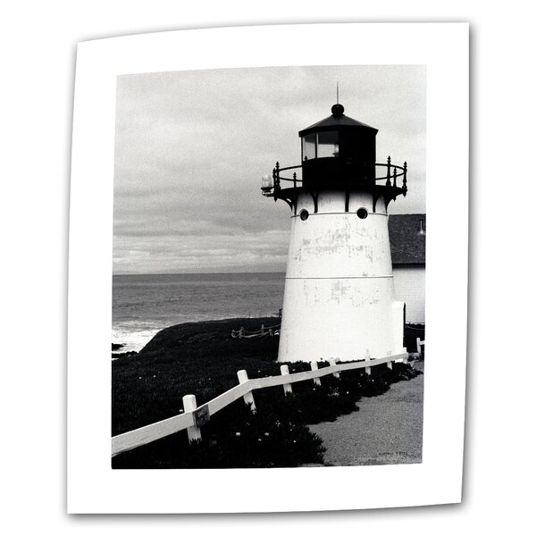 Montara Lighthouse by Kathy Yates Photographic Print on Rolled Canvas by ArtWall