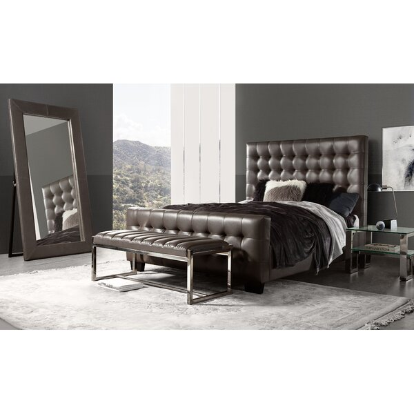 Zen Tufted Upholstered Standard Bed by Diamond Sofa