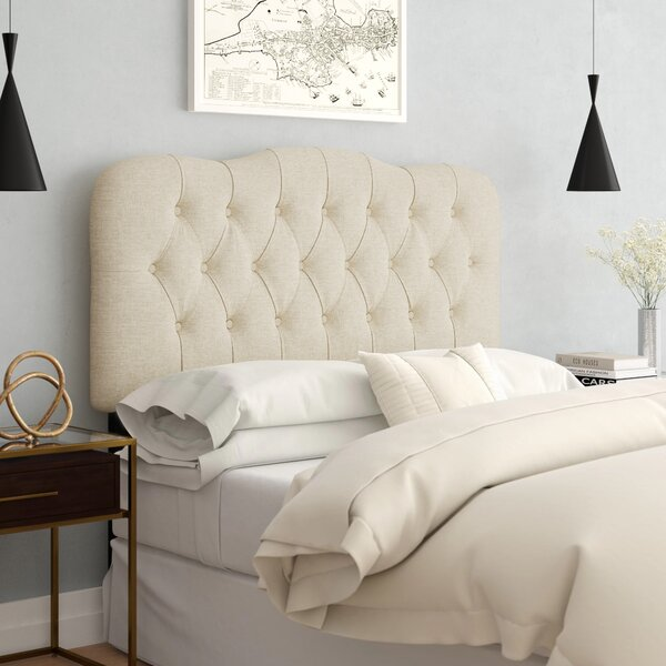 Everdeen Handcrafted Tufted Upholstered Panel Headboard by Willa Arlo Interiors