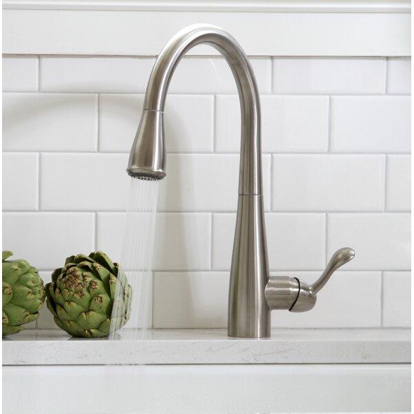 Sanibel Pull Down Single Handle Kitchen Faucet by Premier Faucet