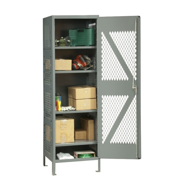 5 Tier 1 Wide Storage Locker by Durham Manufacturing5 Tier 1 Wide Storage Locker by Durham Manufacturing
