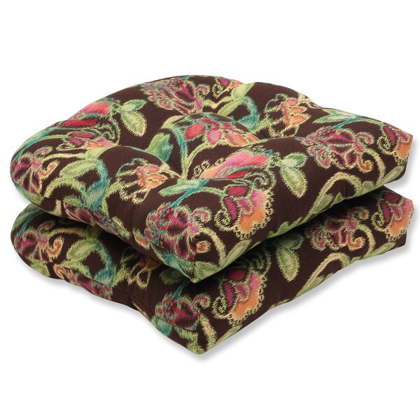 Vagabond Indoor/Outdoor Sunbrella Dining Chair Cushion (Set of 2) by Pillow Perfect