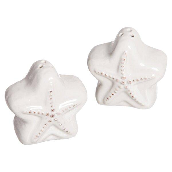 Starfish Salt and Pepper Set by Cape Craftsmen