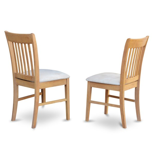 Phoenixville Upholstered Dining Chair (Set of 2) by Three Posts