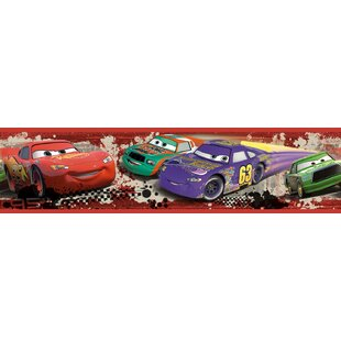 Disney Cars Piston Cup Racing Room Border Wall Mural