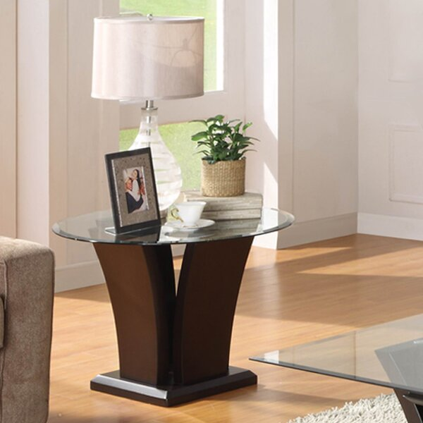Asine End Table by Orren Ellis Orren Ellis