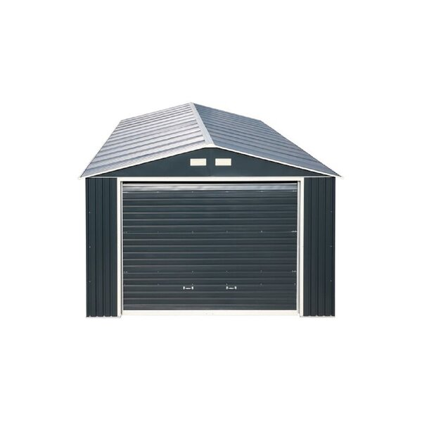 Imperial 12 Ft. W X 20 Ft. D Metal Garage Shed By Duramax Building Products.