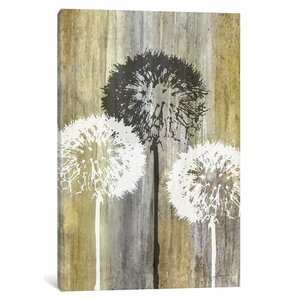 'Rustic Garden II' Painting Print on Canvas by East Urban Home