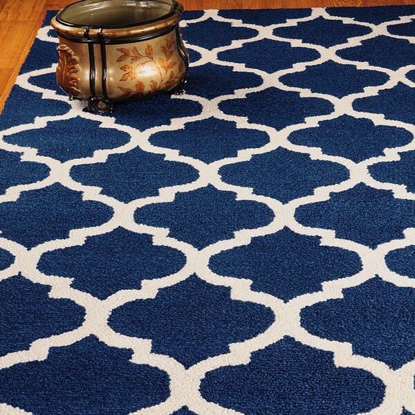 Radiance Blue Area Rug by Natural Area Rugs
