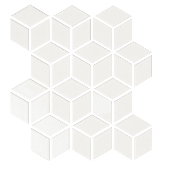 Shape 2 x 2 Porcelain Mosaic Tile in Beige by Emser Tile