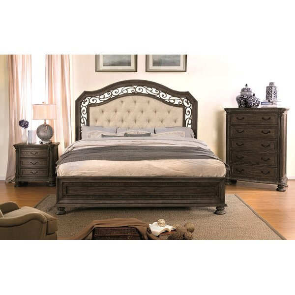 Kimberlie Upholstered Standard Bed by August Grove