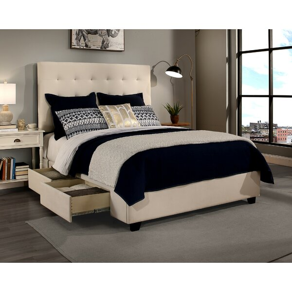 Missouri 4 Drawer Upholstered Storage Platform Bed by Canora Grey