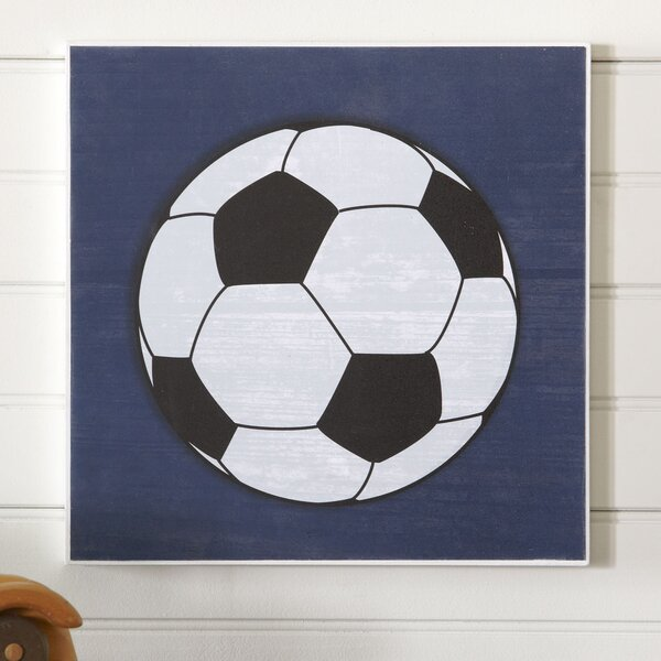 Soccer Sports Center Wall Art by Birch Lane Kids™