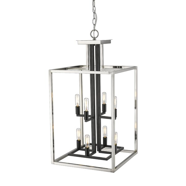 Bedsworth 8 - Light Lantern Rectangle Chandelier By Ivy Bronx