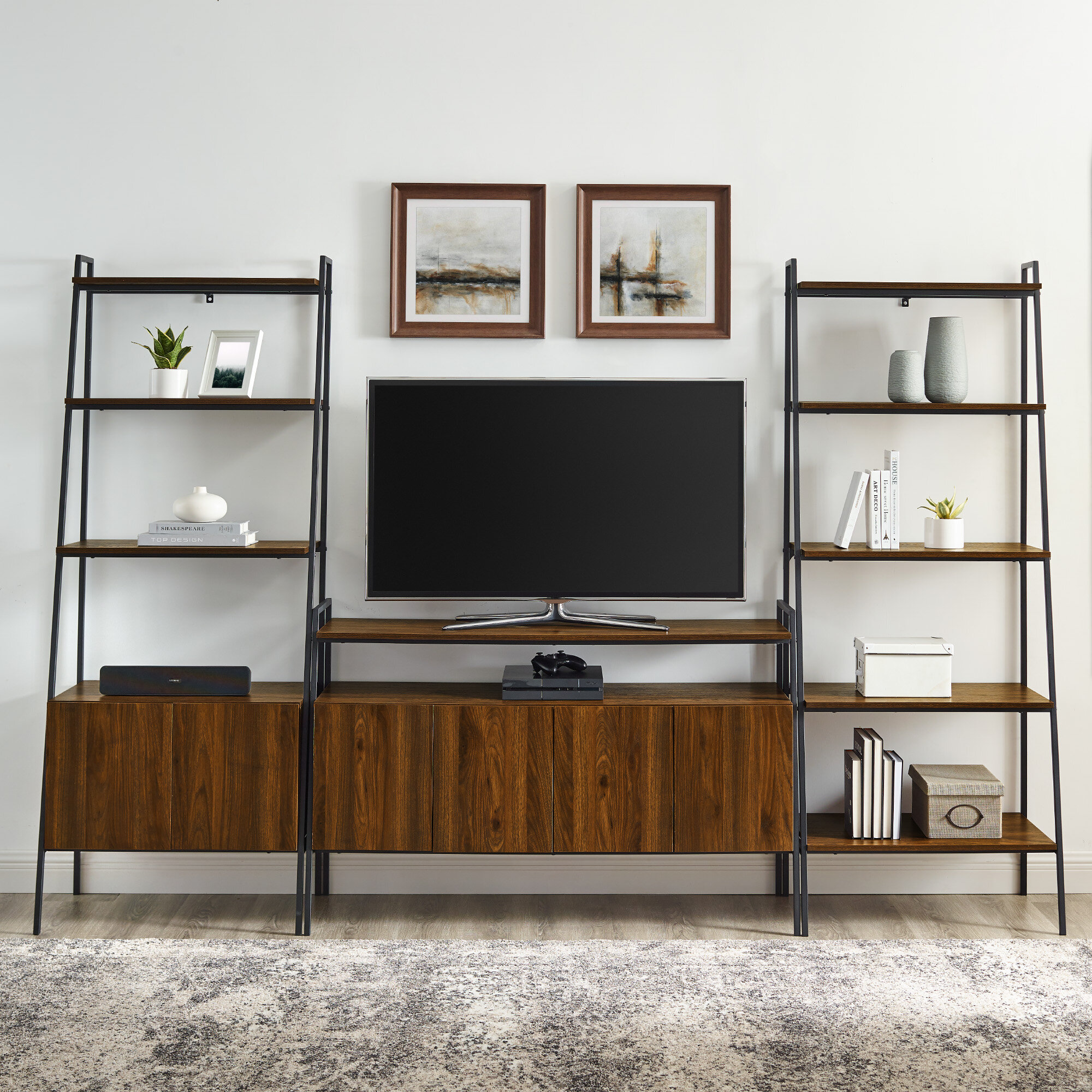 Foundstone Diego Tv Stand For Tvs Up To 58 Reviews Wayfair