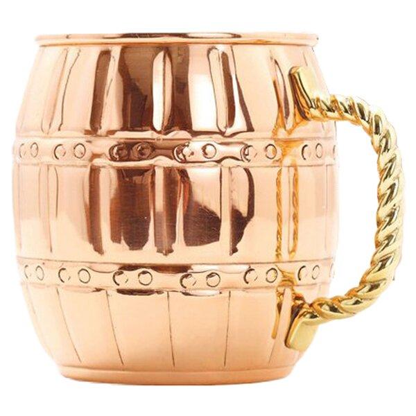 Moscow 16 Oz. Barrel Mule Mug (Set of 4) by Old Dutch International