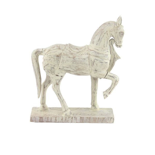 Helgeson Horse Wood Figurine by World Menagerie
