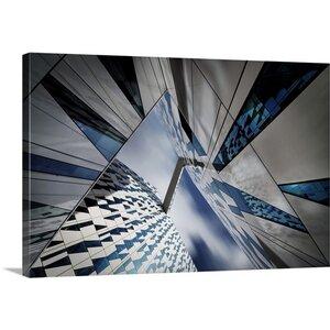 Triangular Caleidoscope by Dan Clausen Hansen Graphic Art on Canvas by Great Big Canvas