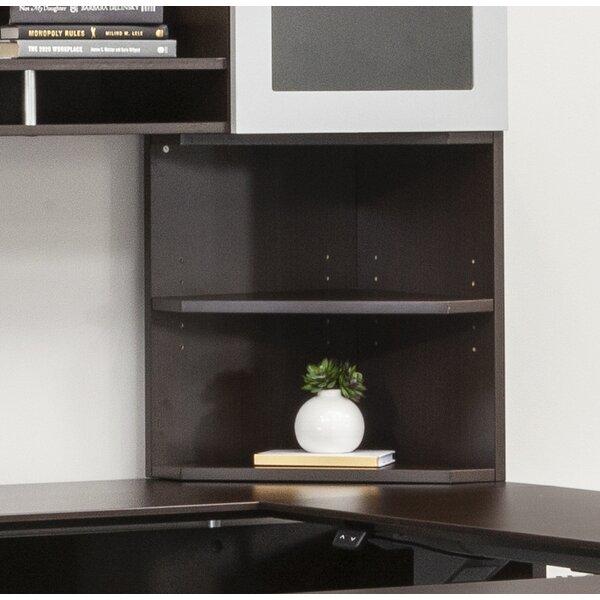 Vandusen Corner Bookcase By Symple Stuff