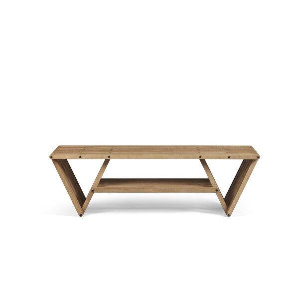 Yasmine Wood Bench by Brayden Studio