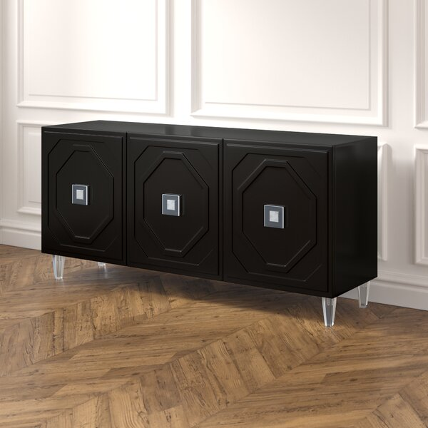 Trish Lacquer Sideboard by Everly Quinn Everly Quinn