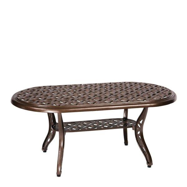 Casa Aluminum Coffee Table by Woodard