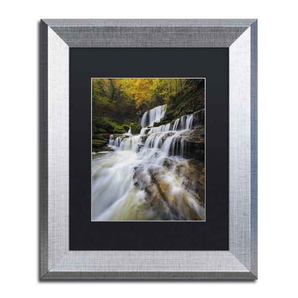Symphony of Autumn by Mathieu Rivrin Framed Photographic Print by Trademark Fine Art