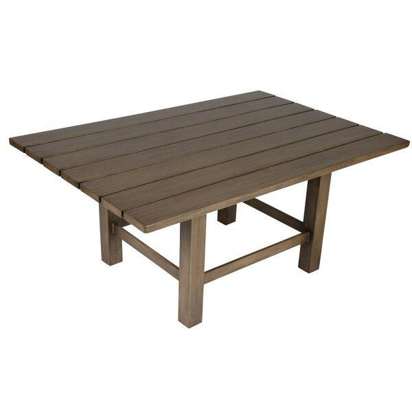 Augusta Woodlands Rectangular Coffee Table by Woodard