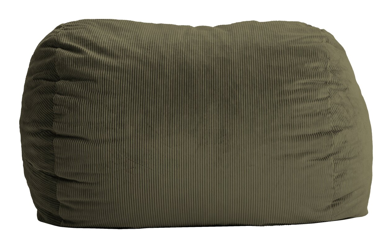 comfort research fuf bean bag sofa  reviews  wayfair - defaultname