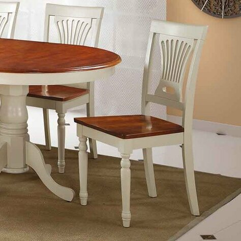 Two Sturdy Solid Wood Dining Chair (Set of 2) by TTP Furnish