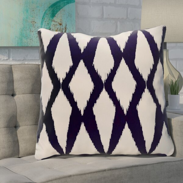 Blasingame Geometric Decorative Outdoor Pillow by Ivy Bronx