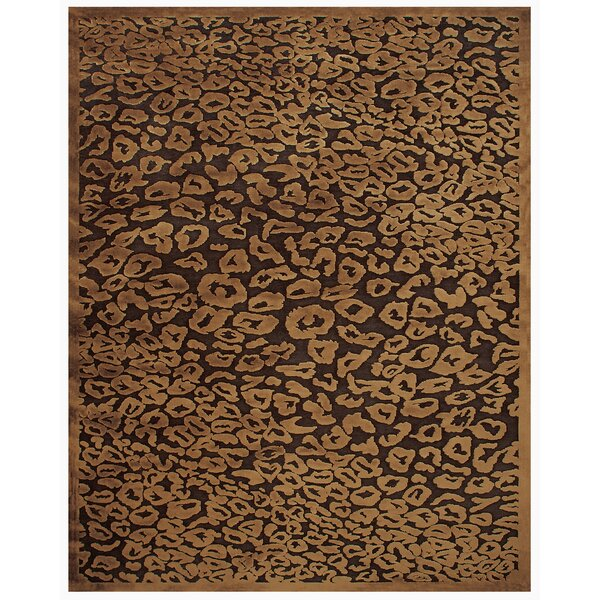 Dabachi Dark Chocolate Area Rug by World Menagerie