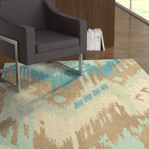 Dodge Mint Area Rug by Ebern Designs
