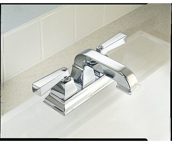 Town Square Centerset Bathroom Faucet with Drain Assembly by American Standard
