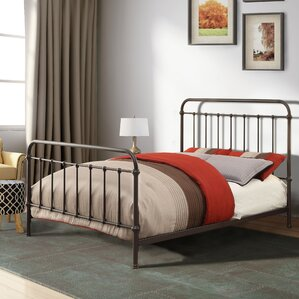 walnut grove panel bed - Spindle Bed