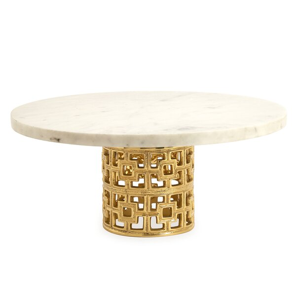 Brass Nixon Cake Stand by Jonathan Adler