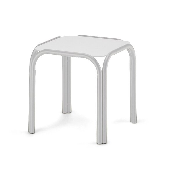 Obscure Stainless Steel Side Table by Telescope Casual
